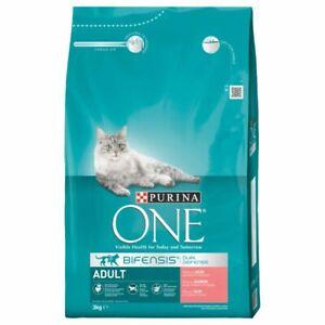 Purina ONE Adult Salmone & Cereali integrali Secco per Gatti - nuovo