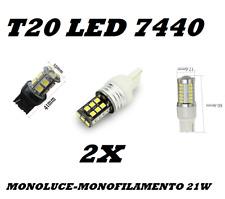COPPIA LAMPADE 12V T20 7440 13LED 5050 SMD W21W LAMPADINA CANBUS MONOFILAMENTO