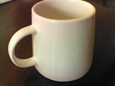 Starbuck's 2014 Collectible Large White Ceramic Coffee Cup 16 oz Engraved