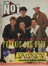 Frankie Goes To Hollywood on Magazine Cover 30 August 1986    Pal of A-Ha