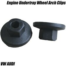 20x Plastic Nuts Engine Undertray Wheel Arch Splash Guard Trim Clips For VW AUDI
