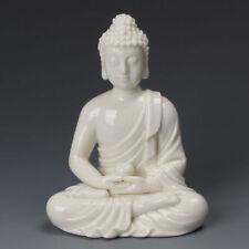 China Dehua White Porcelain Sakyamuni Tathagata Amitabha Buddha Bowl Statue