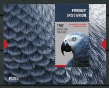 Togo 2014 MNH African Grey Parrot 1v S/S I Perroquets Parrots Birds Stamps