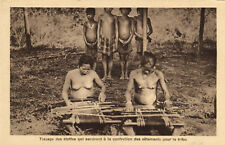 PC ETHNIC NUDE FEMALE TYPE, ASIA Vintage Postcard (b5328)