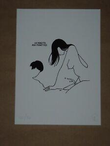 Petites Luxures La Minette Aux Manettes signed numbered art print poster