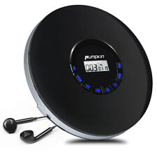 Discman Tragbarer MP3 Spieler CD Player Anti-Schock mit 12 Stdn. AKKU Kopfhörer