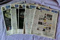 Shotgun News Magazine Back Issue Lot of 5 (Vol. 66 Issues 17 18 19 20 22 - 2012)