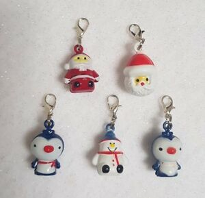 Christmas Shaped Bell Charm with lobster clasp for Cat & Kitten Collars Xmas