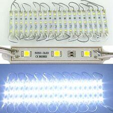2000pcs Lots 5050 3LED Cool White LED Module light SMD Waterproof IP65 wholesale