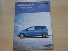 52587) DAIHATSU SONICA Accessories Japan Brochure 06/2006