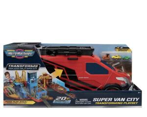 Micro Machines Super City Van Playset NEW! Retro Vintage Toy Transformers BOXED!
