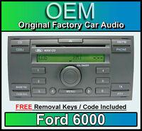 FORD 6000 LETTORE CD, ford fiesta autoradio unità principale+