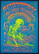 Retrospectacle: Bay Area Celebrates Psychedelia 1967-87 Poster Rick Griffin COA