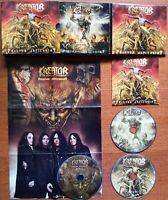 KREATOR PHANTOM ANTICHRIST LIMITED DIGI 2 CD + DVD LIVE POSTER SCARECROW MEXICO