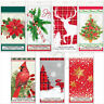 Disposable Plastic Table Cover Cloth Christmas Party Tableware Catering 7x4.5 ft