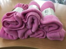 7 Soft Plush Pink Scarves @$5each
