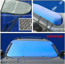 Auto Car Front Window Foldable Blue Sun Visor Sunshade Windshield Block Cover