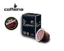 120 capsule caffè vergnano espresso intenso compatibili Nespresso COFFEINA