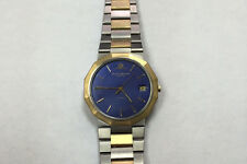 AUTHENTIC PRE-OWNED MENS BAUME & MERCIER RIVIERA  WITH 18KT GOLD LINKS