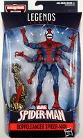 Marvel Legends ~ DOPPELGANGER SPIDER-MAN ACTION FIGURE ~ Molten Man BAF Series