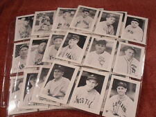 1977 GAMECRAFT Company Rare Complete 1933 All Stars 36 Card Set GEHRIG, RUTH