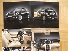 BMW Mini Cooper Goodwood 1 of 1000 r56 septembre 2011 brochure catalogue