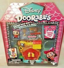 Disney Doorables Hook's Pirate Ship Mini Playset Surprise Figure New