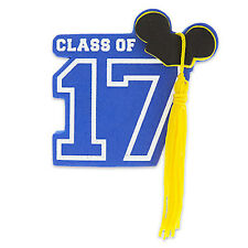 "DISNEY MICKEY MOUSE GRADUATION CLASS OF 2017 CAR ANTENNA AERIAL BALL - NEW ""o"""