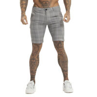 GINGTTO Mens Slim Fit Stretch Chino Shorts Summer Casual Spandex Bottoms Pants