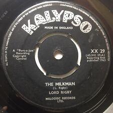 "LORD RIGBY :: The Milkman . 7"" Vinyl . Kalypso"