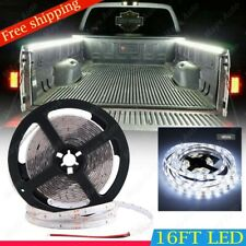 Universal Waterproof Xenon White 300 LED Lighting Kit  For Truck Bed Cargo Area