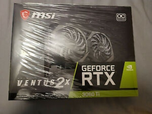 MSI RTX 3060 Ti Ventus 2X OC 8GB GDRR6 256-Bit TORX Fan 3.0 OC Graphics Card