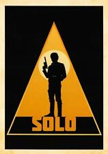 Solo: A Star Wars Story SILHOUETTES Trading Card Insert SL-1 / HAN SOLO