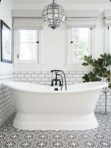 Rosedale Cast Iron Roll Top Bath 1810mm  ** FREE DELIVERY + WASTE **