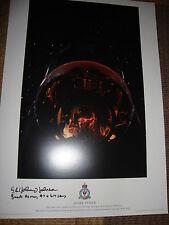 WW2 DAMBUSTER Bomb Aimer  SIGNED limited ed print