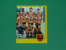 N°81 EQUIPE PART 2 STADE LAVALLOIS LAVAL PANINI FOOTBALL FOOT 89 1988-1989