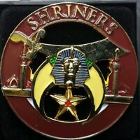 Shriners Brown Lapel Pin