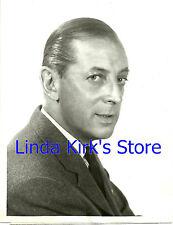 "Alistair Cooke Promo Photograph Fifth Season ""Omnibus"" ABC-TV Premiere 1956"