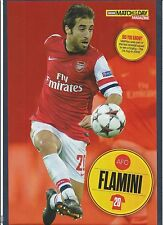 MOTD-POSTER 2013/14-ARSENAL & FRANCE-MILAN-MARSEILLE-MATHIEU FLAMINI
