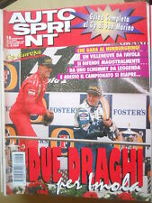Autosprint 18 1996 Superturismo ALFA 155 1° posto