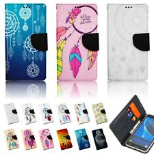 Phone Case for Huawei Flip Cover Protective Case Wallet Motif Dreamcatcher
