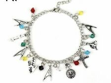 NEW Star Trek Silver Plated Charm Bracelet - Perfect Gift for Christmas