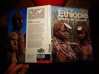 Ethnologie ETHIOPIE Berceau de l'Humanité Moeurs Tribales Scarification 1989