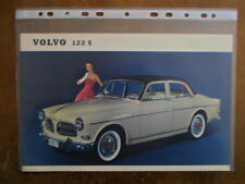VOLVO 122S SALOON orig 1959 1960 UK Mkt Sales Leaflet Brochure - Amazon