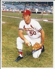 Lee Thomas St. Louis Cardinals Signed Auto 8x10 Photo Autograph