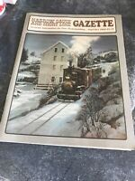 On3,On30,SN3,HOn3 NARROW GAUGE AND SHORT LINE GAZETTE MAGAZINE SEPT/OCT 1989