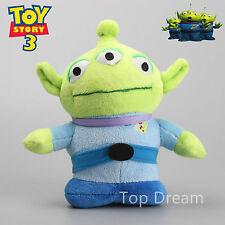 New Toy Story Alien Cup Wall Green Men 3 Eyes Alien Soft Plush Doll Toy 20cm 8''