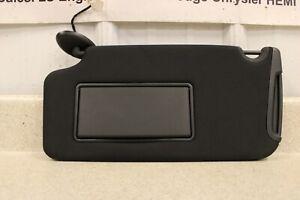 11 14 Dodge Charger SRT-8 Driver Side Sun Visor Left LH OEM Mopar Shade Black