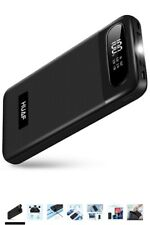 Portable Charger Power Bank 24000mAh Huge Capacity Battery Pack with LCD Screen,