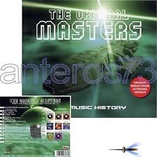"""THE ORIGINAL MASTERS """"THE MUSIC HISTORY"""" CD DISCO EXTENDED VERSIONS ITALO"""